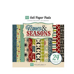 Echo Park - Times and Seasons Collection - 6 x 6 Paper Pad