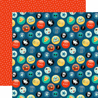 Echo Park - Teen Spirit Boy Collection - 12 x 12 Double Sided Paper - Rad Buttons