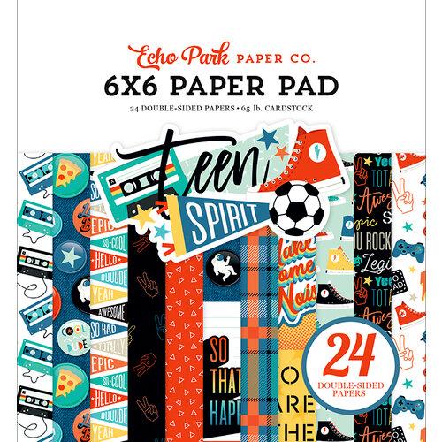 Echo Park - Teen Spirit Boy Collection - 6 x 6 Paper Pad