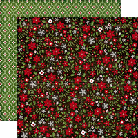 Echo Park - The Story of Christmas Collection - 12 x 12 Double Sided Paper - Flowers