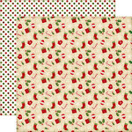 Echo Park - The Story of Christmas Collection - 12 x 12 Double Sided Paper - Icons