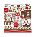 Echo Park - The Story of Our Christmas Collection - 12 x 12 Cardstock Stickers - Elements