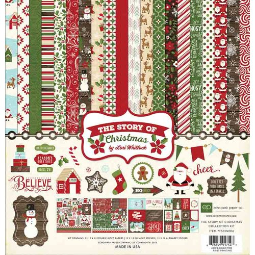 Echo Park - The Story of Our Christmas Collection - 12 x 12 Collection Kit