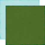 Echo Park - The Story of Christmas Collection - 12 x 12 Double Sided Paper - Dark Green