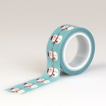Echo Park - The Story of Our Christmas Collection - Decorative Tape - Snowman