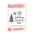 Echo Park - The Story of Our Christmas Collection - Designer Dies - Christmas Holidays
