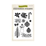 Echo Park - The Story of Our Christmas Collection - Clear Acrylic Stamps - Believe