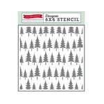 Echo Park - The Story of Our Christmas Collection - 6 x 6 Stencil - Oh Christmas Tree