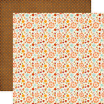 Echo Park - The Story of Fall Collection - 12 x 12 Double Sided Paper - Fall Small Floral