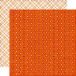 Echo Park - The Story of Fall Collection - 12 x 12 Double Sided Paper - Orange Leaf