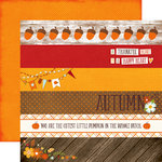 Echo Park - The Story of Fall Collection - 12 x 12 Double Sided Paper - Borders