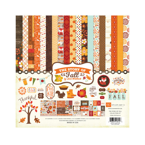 Echo Park - The Story of Our Fall Collection - 12 x 12 Collection Kit