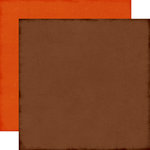 Echo Park - The Story of Fall Collection - 12 x 12 Double Sided Paper - Brown