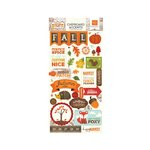 Echo Park - The Story of Our Fall Collection - Chipboard Stickers