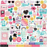 Echo Park - Teen Spirit Girl Collection - 12 x 12 Cardstock Stickers - Elements