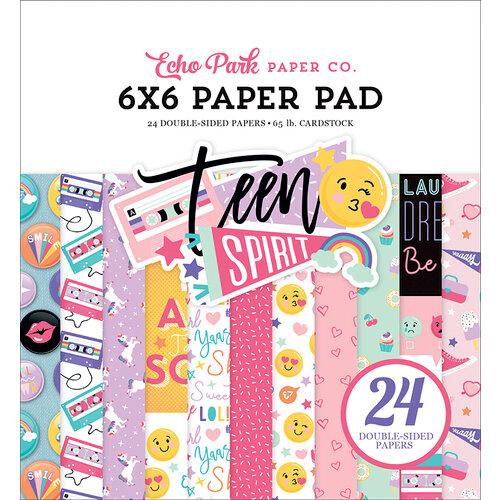 Echo Park - Teen Spirit Girl Collection - 6 x 6 Paper Pad