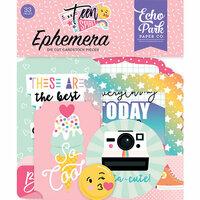 Echo Park - Teen Spirit Girl Collection - Ephemera