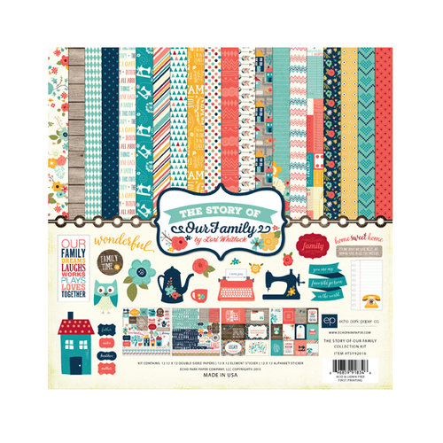 Echo Park - The Story of Our Family Collection - 12 x 12 Collection Kit