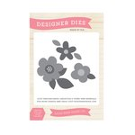 Echo Park - The Story of Our Family Collection - Designer Dies - Flower Set 4
