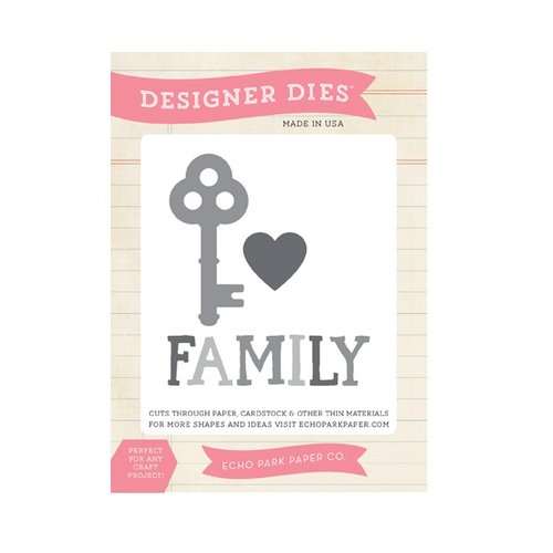 Echo Park - The Story of Our Family Collection - Designer Dies - Family is Key