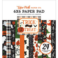 Echo Park - Trick or Treat Collection - Halloween - 6 x 6 Paper Pad