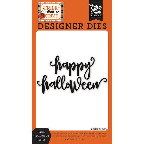 Echo Park - Trick or Treat Collection - Halloween - Designer Dies - Word Set 2