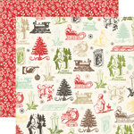 Echo Park - This and That Collection - Christmas - 12 x 12 Double Sided Paper - Christmas Memories