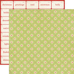 Echo Park - This and That Collection - Christmas - 12 x 12 Double Sided Paper - Wrapping Paper