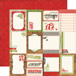 Echo Park - This and That Collection - Christmas - 12 x 12 Double Sided Paper - Journaling Cards