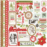 Echo Park - This and That Collection - Christmas - 12 x 12 Cardstock Stickers - Elements