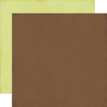 Echo Park - This and That Collection - Christmas - 12 x 12 Double Sided Paper - Brown