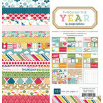 Echo Park - Through The Year Collection - 12 x 12 Collection Kit