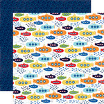 Echo Park - Under the Sea Collection - 12 x 12 Double Sided Paper - Sea Explorers