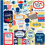 Echo Park - Under the Sea Collection - 12 x 12 Cardstock Stickers - Elements
