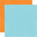 Echo Park - Under the Sea Collection - 12 x 12 Double Sided Paper - Light Blue