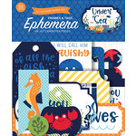 Echo Park - Under the Sea Collection - Ephemera - Frames and Tags