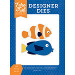 Echo Park - Under the Sea Collection - Designer Dies - Fish Friends