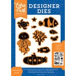 Echo Park - Under the Sea Collection - Designer Dies - Vitamin Sea