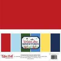 Echo Park - Under Sea Adventures Collection - 12 x 12 Paper Pack - Solids
