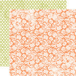 Echo Park - Victoria Garden Collection - 12 x 12 Double Sided Paper - Blooming Blossoms