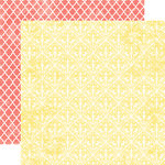 Echo Park - Victoria Garden Collection - 12 x 12 Double Sided Paper - Sunshine