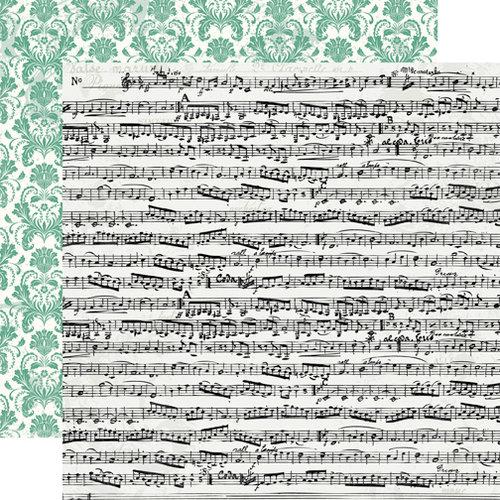 Echo Park - Victoria Garden Collection - 12 x 12 Double Sided Paper - Botanical Ballad