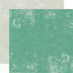 Echo Park - Victoria Garden Collection - 12 x 12 Double Sided Paper - Garden Pond