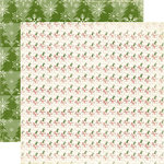 Echo Park - A Very Merry Christmas Collection - 12 x 12 Double Sided Paper - Snowman
