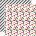 Echo Park - We Are Family Collection - 12 x 12 Double Sided Paper - Small Floral