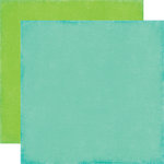 Echo Park - We Are Family Collection - 12 x 12 Double Sided Paper - Teal
