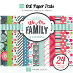 Echo Park - We Are Family Collection - 6 x 6 Paper Pad