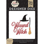 Echo Park - Witches and Wizards Collection - Designer Dies - Witch and Wizard