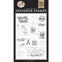 Echo Park - Witches and Wizards Collection - Clear Photopolymer Stamps - Sent By Air