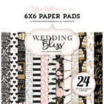 Echo Park - Wedding Bliss Collection - 6 x 6 Paper Pad
